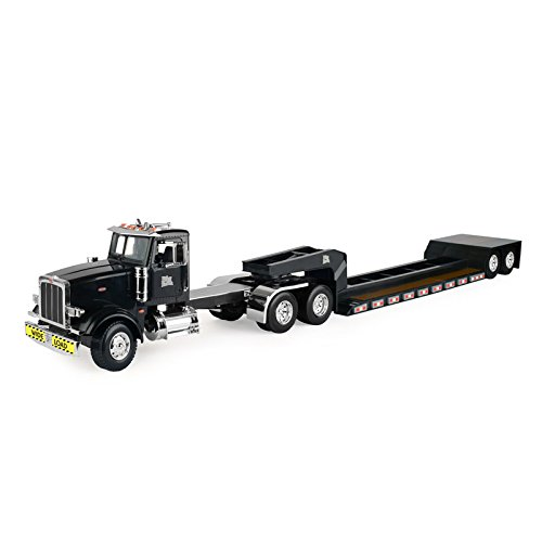(TOMY John Deere 1/16 Big Farm Semi with Low Boy - Wide Load)