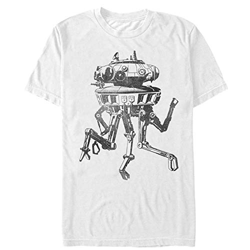 Star Wars Men's Spider Droid White T-Shirt