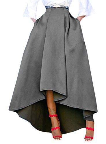 high low hem maxi dress - 4