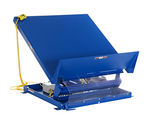 Vestil-UNI-9648-4-Scissor-Lift-Table-4000-lb-Capacity-96-x-48-Blue