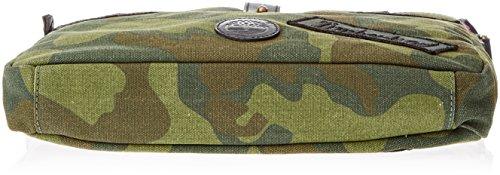 Timberland TB0M5785, Borsa a Mano Unisex Adulto, Verde (Green Camo), 5x33x29 cm