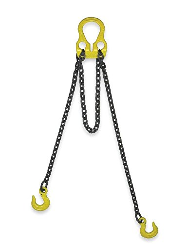 Liftall 30003G10 Chain Sling, G100, Alloy Steel, 6' Length (Grade 100 Lifting Chain)