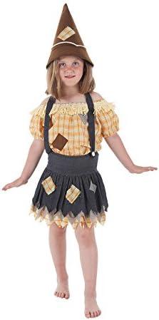 LLOPIS - Disfraz Infantil espantapájaros niña t-s: Amazon.es ...