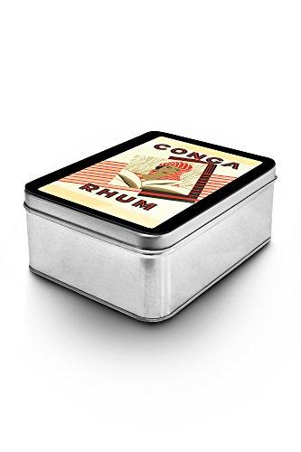 Conga Rhum Brand Rum Label (Keepsake - Conga Box