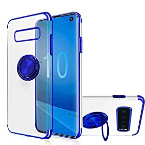 Amazon.com: Carcasa para Galaxy S10 Plus, [soporte de anillo ...