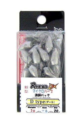 JAZZ(ジャズ) 尺ヘッドDXマイクロバーブ Dタイプ 3g #6 漁師パックの商品画像