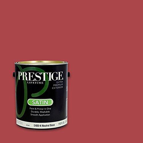 Prestige Exterior Paint and Primer In One, 1-Gallon, Sati...