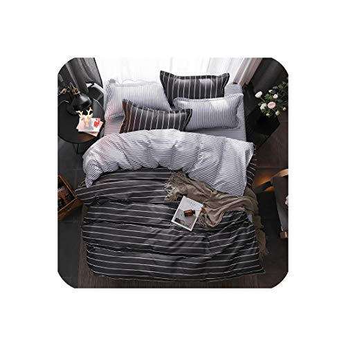 mamamoo Green Lemon Winter Bedding Sets Full King Twin Queen King Size 4Pcs Bed Sheet Duvet Cover Set Pillowcase Without Comforter,B27,Single 150By200 3Pcs,Flat Bed Sheet