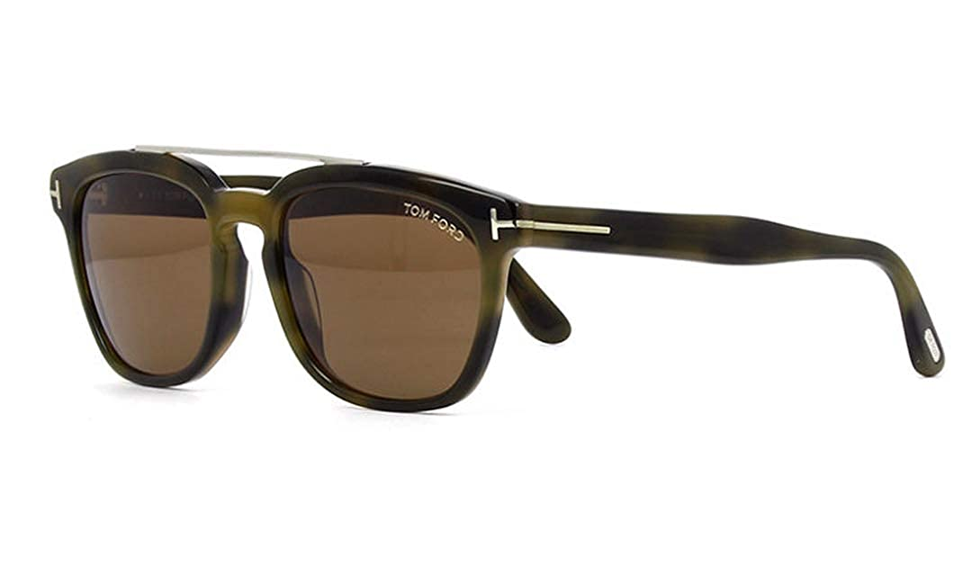 Tom Ford Sonnenbrille Holt (FT0516) Tom Ford FT0516 53N 54 Marron (Avana Bionda/Verde)