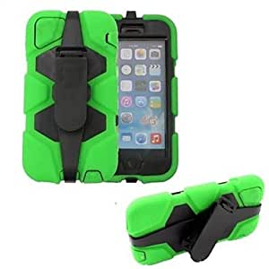 QYF Armor Robot Protective Cover with Back Clip for iPhone 6 (Assorted Color) , Yellow