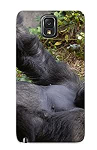 Awesome Xwhvxg-4059-zerupxf Exultantor Defender Tpu Hard Case Cover For Galaxy Note 3- Animal Gorilla