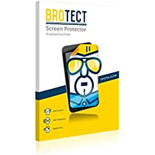 2x BROTECT HD-Clear Screen Protector for ZTE Hawkeye, crystal-clear, hard-coated, dirt-repellent