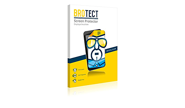 Brotect 2X HD-Clear Screen Protector for Tecno Phantom 8 Crystal-Clear Dirt-Repellent Hard-Coated