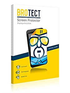 2x BROTECT HD-Clear Screen Protector for Bulls Green Mover, crystal-clear, hard-coated, dirt-repellent