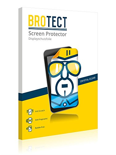 2x BROTECT HD-Clear Screen Protector for Dell Axim X51v, crystal-clear, hard-coated, dirt-repellent