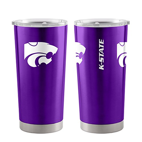 Kansas State Wildcats 20 oz Ultra Stainless Steel Travel Tumbler
