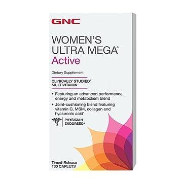 GNC Womens Ultra Mega Active, ...