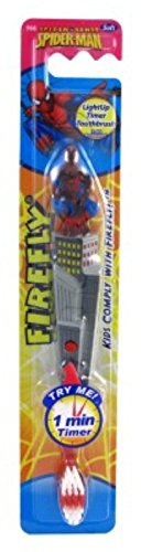 Firefly Toothbrush Spiderman Flashing 1 Min Timer (2 Pack) by Firefly (Image #2)