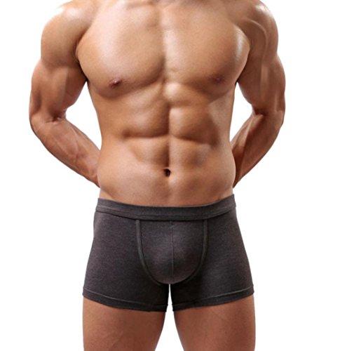 FranterdMen's Bulge Pouch Boxer Briefs Underwear (XL