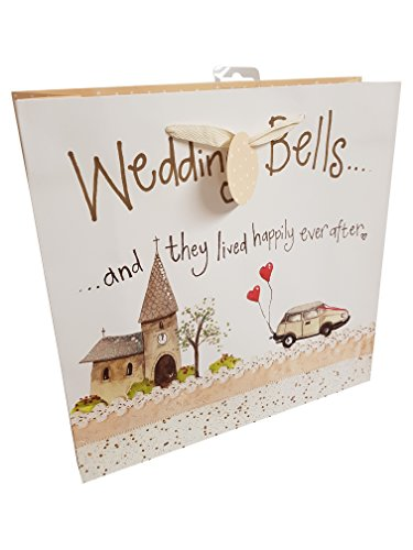 Wedding They and Alex After Gift Happily Bells Bag Large Clark Ever LB15 Lived wxn6YqI60