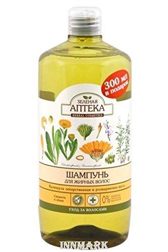59283 Shampoo für fettiges Haar Calendula & Rosmarin Öl 1000 ml grün Apotheke