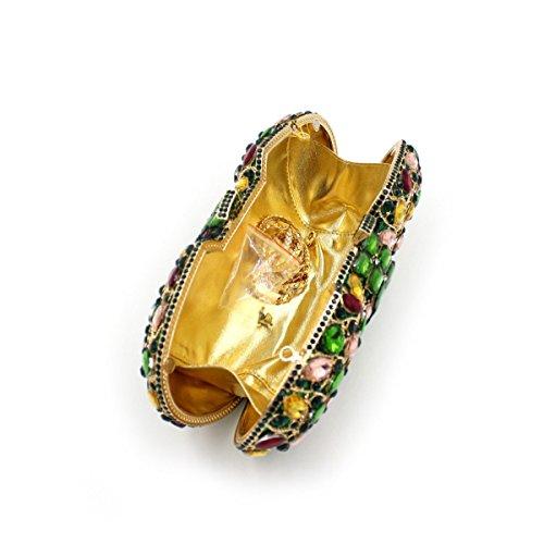 De Luxe Soie Sac Diamant De Onecolor En Femmes Pour Soirée De dBnqxWHn