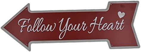 Flecha Vintage Metal Cartel De Chapa Placa Palabra Slogan ...