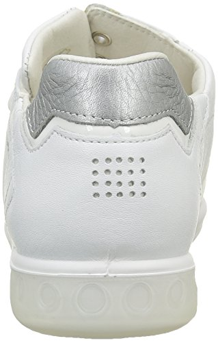 Orrelie Lacées Femme Chaussures Tbs blanc Métallique Blanc gris qS1w8xn