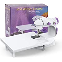 KPCB Mini Sewing Machine with Extension Table, Electrical with Foot Pedal