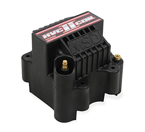 MSD 82613 Black Ignition Coil, HVC-2,7 Series IGN