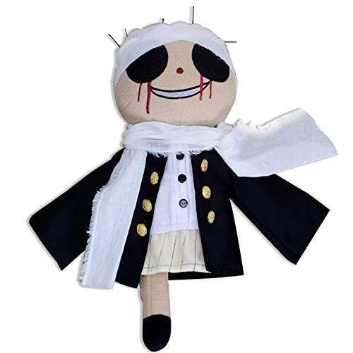 HLZG Bungo Stray Dogs Cosplay Doll Stray Dogs Costume Muppet Babies Costume Plush Toy Gifts -
