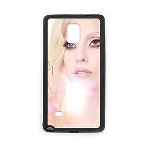 Lady Gaga Samsung Galaxy Note 4 Black Cell Phone Case GSZWLW2545 Phone Cases Fashion