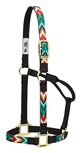 Weaver Leather Patterned Non-Adjustable Halters (Renewed)