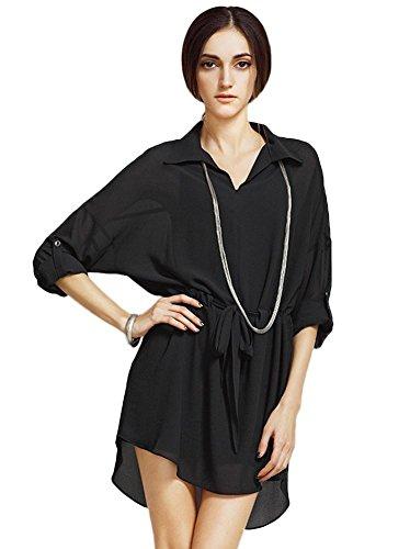 Negro Para Vestido Vestido Insun Negro Mujer Insun Insun Mujer Para Vestido ZwvxIfZaqS