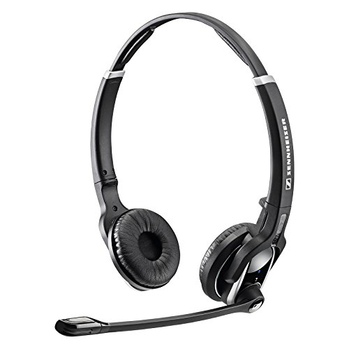 sennheiser dw pro 2 dual ear wireless office headset with microphone dect 6 0 buy online in. Black Bedroom Furniture Sets. Home Design Ideas