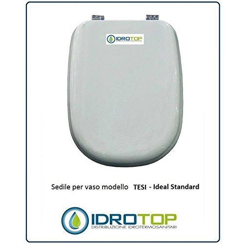 Sedile Water Ideal Standard Tesi.Tesi Ideal Standard Toilet Seat White Soft Close I S Zip Slowed Oro