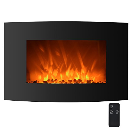 led wall mount fireplace - 8