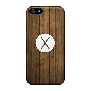 Jeffrehing Fashion Protective Osx Mavericks Logo Wood Pattern Case For HTC One M7 Cover