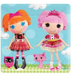 Lalaloopsy Plate (S) 8ct [Contains 4 Manufacturer Retail Unit(s) Per Amazon Combined Package Sales Unit] - SKU# 541184