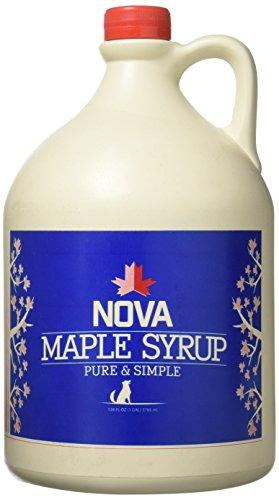0f5b86d0b18 Nova Maple Syrup - Pure Grade-A Maple Syrup (Gallon)