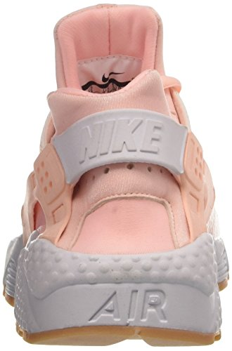 Sunset Donna White Rosa Yellow Tint Ginnastica da Wmns Air Run Gum NIKE Huarache Scarpe 6zw0BPq