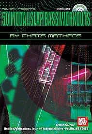(50 Modal Slap Bass Workouts QWIKGUIDE Book/CD Set )