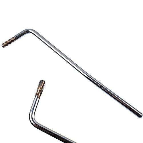 GETMusic 6MM Screw-in Electric Guitar Tremolo Arm Whammy Bar ()