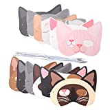 Cat Masks Kitten Masks Halloween Masks for Cat