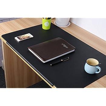 Desk pads artificial leather laptop mat with - Protector de escritorio ...