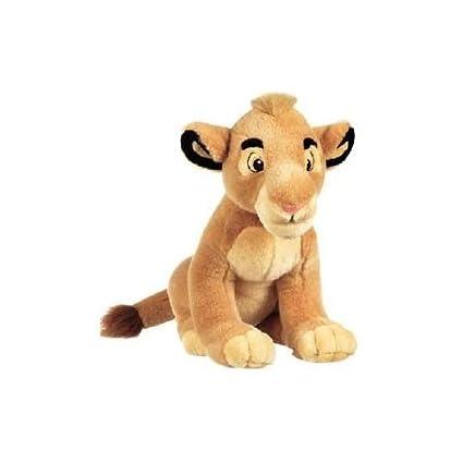 Amazon Com Disney Lion King Simba Plush Doll Toy 14 Toys Games