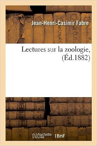 Livres gratuits Lectures sur la zoologie, (Éd.1882) pdf