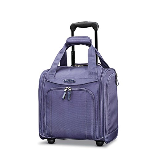 Samsonite Small Wheeled Underseater, Purple - Spinner Underseat Luggage