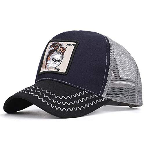 YSYNCAP Cappellino Berretto da Baseball da Uomo Cappellino Estivo da Uomo con Gilet di Maglia Gorra Animales Cappello da pap/à con Cappuccio Snapback Hip Hop