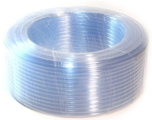 I/D 5/16'' O/D 3/8'' 33 Ft 10 Metre PVC Clear Vinyl Tubing Flexible Air Food Water Delivery Feeding Hose